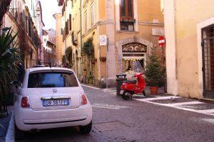Straatbeeld Rome 2016 (foto: kleineitaliaansecampings.nl) campings klein Italie Rome